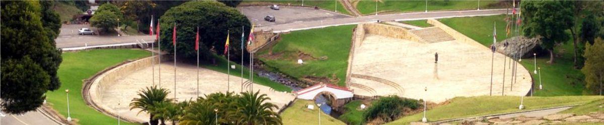 EL MONUMENTO DEL PUENTE DE BOYACA HACE A BOYACA VISIBLE